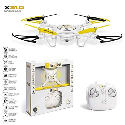 Mondo Motors - Ultra Drone X31.0 Explorers Camera 720 P. - Batteria 3.7 V Li Poly - Funzioni di...