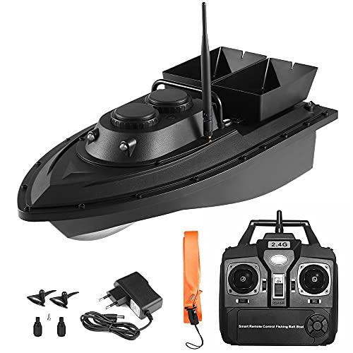 GPS Smart Fishing Bait Boat Telecomando Senza Fili 500m Alimentatore da Pesca RC Barca da Pesca per Adulti Principianti Regno Unito/UE/US/Plug, ecoscandaglio da Pesca.WQQWQQ-8521