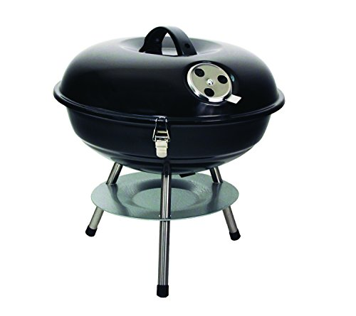 Product Image 1: Texsport Barbecue Mini Portable Charcoal BBQ Grill, Black