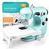 Sewing Machine, Mini Sewing Machine for Beginner with Eco-Friendly Material, Dual Speed Portable...