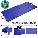 CCLIFE 245x120x5cm Tapis de Gymnastique...
