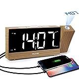 MIZHMI Alarm Clock with FM Radio