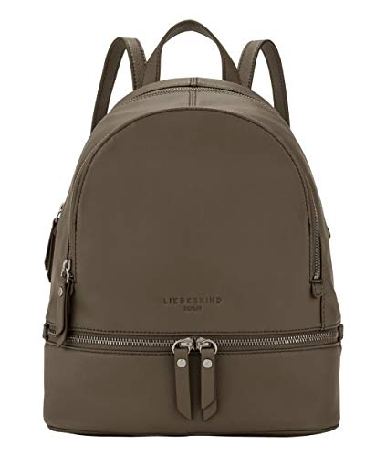 Liebeskind Berlin Damen Alita Backpack Rucksackhandtasche, dusky olive, 26x31.5x11 cm
