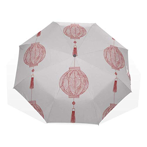 Parapluie de Soleil pour Marcher Art personnalisé Festival Chinois...