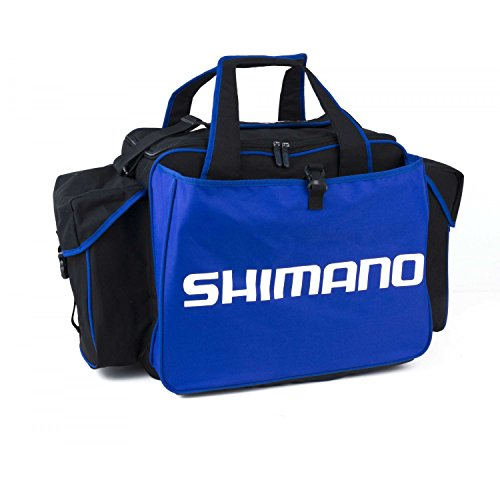 Shimano, borsa da pesca portatutto Dura DL Deluxe, SHALLR01, 52 x 32 x 43 cm