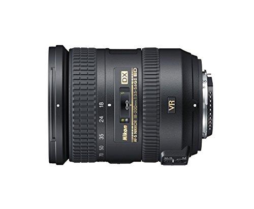 Nikon AF-S DX NIKKOR 18-200mm f/3.5-5.6 G ED VR II Negro - Objetivo (16/12, 0,5 m, f/22-36, 18-200 mm, 76°, 8°)