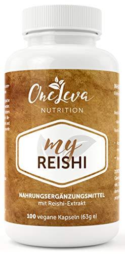 My Reishi   100 Kapseln   500 mg Reishi Pilz Extrakt mit 30% Polysacchariden   hochwertiger Vitalpilz   Ling Zhi   Ganoderma Lucidum
