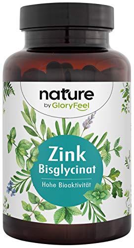 GloryFeel | 400 tabletten | Zinkbisglycinaat (zinkchelaat) | Hoogste biologische beschikbaarheid: 25 mg