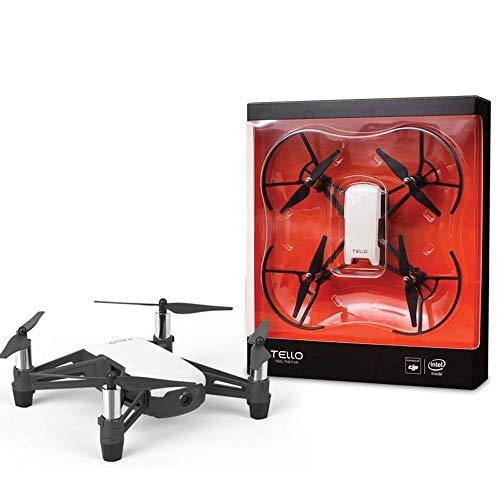 Drone DJI Tello Boost ARCTIC Branco Combo com 3 Baterias + Hélices EXTRAS CP.TL.00000017.01, Compacto