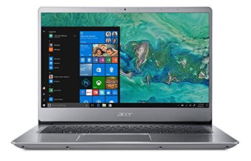 Acer Swift 3 SF314-56-7872 Notebook con Processore Intel Core i7-8565U, Ram 8 GB DDR4, 512GB PCIe NVMe SSD, Display 14' IPS Full HD LED LCD, Scheda Grafica Intel UHD 620, Windows 10 Home, Silver