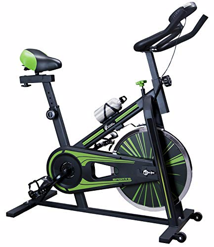 CENTURFIT Bicicleta Spinning 10kg Cardio Fitness Fija Profesional