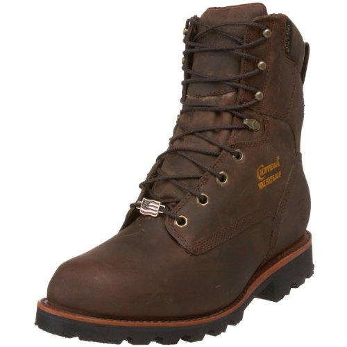 "4. Chippewa Men's 29416 8"" Waterproof Insulated Work Boot"