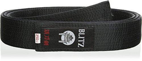 Blitz Sport Deluxe Silk - Expositor de Cinturones de Artes Marciales, Color Negro, Talla 250 cm