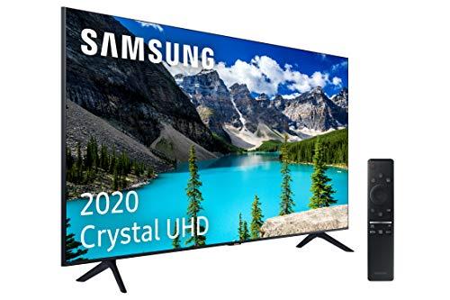 """Samsung 43TU8005 Crystal - Smart TV de 43"""", UHD 2020, con Resolución 4K, HDR 10+, Crystal Display, Procesador 4K, PurColor, Sonido Inteligente, One Remote Control y Asistentes de Voz Integrados"""