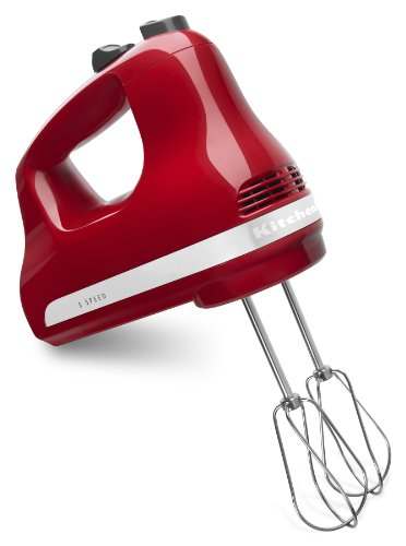 KitchenAid KHM512ER 5-Speed Ultra Power Hand Mixer, Empire...