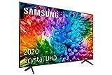 Samsung UHD 2020 55TU7105- Smart TV de 55' 4K, HDR 10+, Crystal Display, Procesador 4K, PurColor, Sonido Inteligente, Función One Remote Control y Compatible Asistentes de Voz, Compatible con Alexa