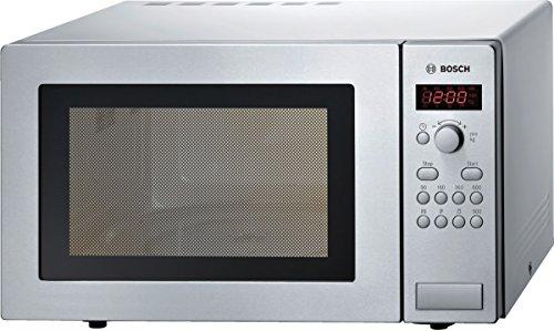 Bosch Micro-ondes pose-libre, Série 2, Inox, HMT84M451