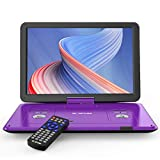 BOIFUN 17.5' Portable DVD Player with 15.6' Large HD Screen, 6 Hours Rechargeable Battery, Support...