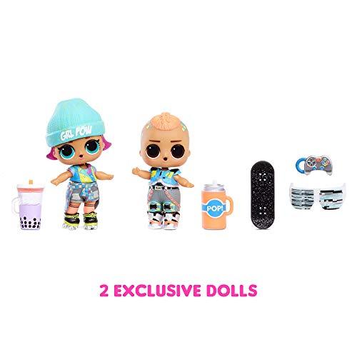 Image 2 - LOL Surprise Clubhouse. Maison de poupée, 40 surprises et plus. 2 poupées exclusives, 7 espaces, cuisine, chambre, terrasse, salle de jeux et encore! Meubles et accessoires. Pour fille de 4ans et plus