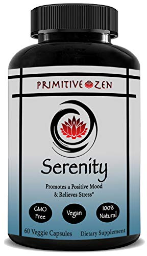 Serenity   Herbal Stress & Anxiety Relief Supplement   5...