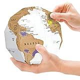 Surenhap Globe à Gratter Carte du Monde Le Globe de Papier Boule de Papier...