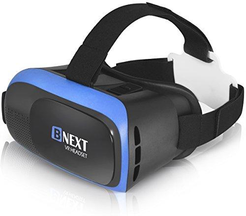 Gafas VR Compatible con iPhone y Android, Gafas Realidad Virtual...