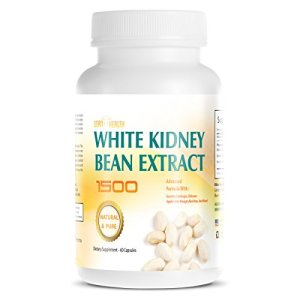 White Kidney Bean Extract -1500 Extreme Natural and Pure Carb Blocker - Appetite Suppressant - Starch Blocker - Advance Formula Garcinia Cambogia Apple Cider Vingar Chitosan - Prevents Fat 6 - My Weight Loss Today