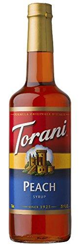 Torani Peach Syrup, 25.35 oz