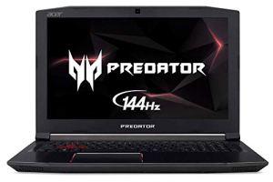 Acer Predator Helios 300 Gaming Laptop PC, 15.6' FHD IPS w/ 144Hz Refresh, Intel i7-8750H, GTX 1060 6GB, 16GB DDR4, 256GB NVMe SSD, Aeroblade Metal Fans PH315-51-78NP