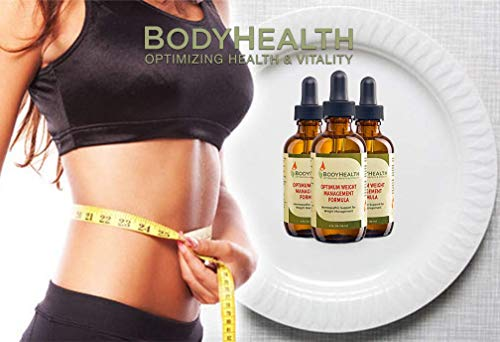 BodyHealth Optimum Weight Management Formula (60 Day Supply) Natural Weight Loss Liquid Drops, for Rebalancing Metabolic Hormones, with Medically Designed Diet Plan, Quality Ingredients 4