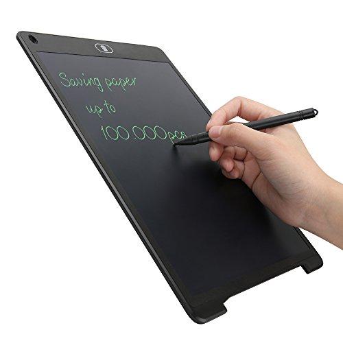 Tavoletta Grafica Scrittura Tablet LCD 28 X 18,5cm con Penna Wireless Disegni di Animazione,...