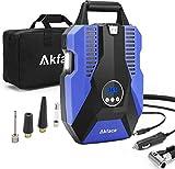 Akface Compresseur Voiture Portable,Gonfleur Pneus Voiture, Compresseur...