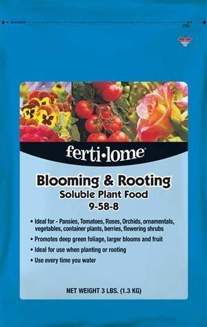 Fertilome Blooming & Rooting Soluble Plant Food 9-59-8, 3 Pounds