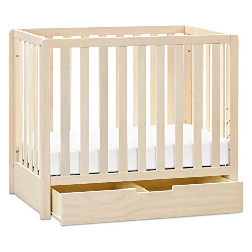 Product Image 8: Carter's by DaVinci Colby 4-in-1 Convertible Mini Crib with Trundle in Washed Natural, Greenguard Gold Certified