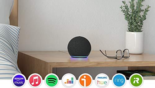 Echo Dot (4.ª generación), Antracita + Amazon Smart Plug...