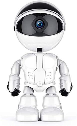 KuWFi Telecamera di sorveglianza automatica per robot di sicurezza domestica KuWFi Telecamera IP...