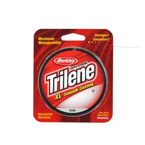 Berkley Trilene XL Smooth Casting Monofilament Service Spools, 330 YD.(8-Pound,Clear)