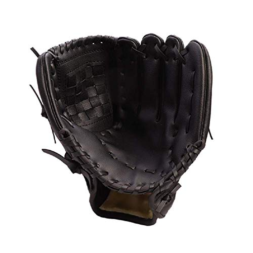 HAI+ Youth, Junior, Children's TBall Gloves, Baseball Glove, Fit for Beginner or Infielder,Left Hand Glove (Black, 11.5)