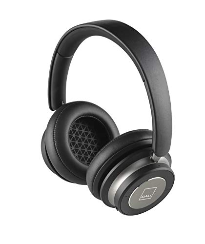 Dali - Kopfhörer IO-6 - Kabellosen/Bluetooth - Aktive Rauschunterdrückung - Akkulaufzeit: 30 Stunden - Mikrofon eingebaut - schalldicht - DREI Bedienelemente - Farbe: Schwarz