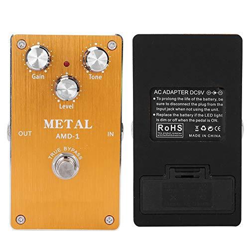 Romantic GiftMetal Distortion Effect,Guitar Pedal, Guitar Effect Pedal, Full Metal Shell for Electric Guitar Professionals