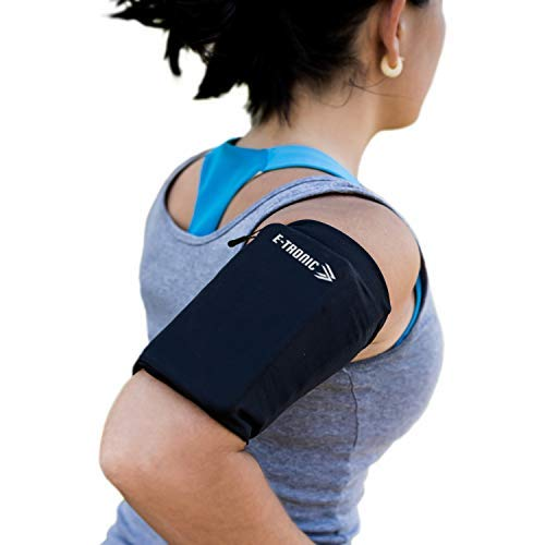 Phone Armband Sleeve: For All Phones Running Sports Arm Band Strap Holder Pouch Case Workout Fits iPhone 7 8 X XR 11 Plus Android Samsung Galaxy S8 S9 Note 7 8 9 Edge For Women & Men MEDIUM