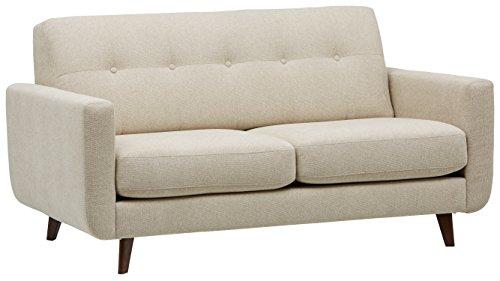 Marchio Amazon -Rivet, divano trapuntato modello Sloane, stile mid-century moderno, larghezza 163...