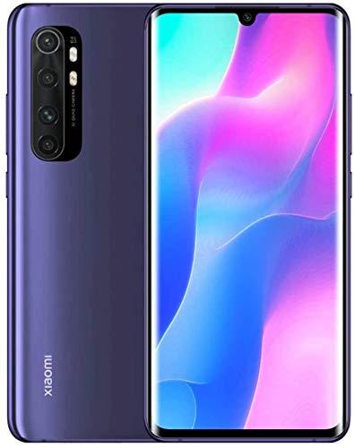 Xiaomi Mi Note 10 Lite Smartphone - 6.47″ 3D curved AMOLED Display RAM 6GB ROM 128GB AI Quad telecamera 5260 mAh typ NFC Viola [Versione globale]