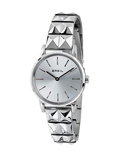 Breil - Damenuhr Kollektion Rockers TW1846 - Lady's Time Only Uhr - Armband aus poliertem Stahl - 32 mm