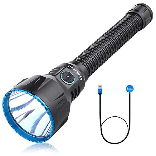 Olight Javelot Turbo Lampe Torche Led Ultra Puissante de Longue Portée 1300 Mètres /1300 Lumens...
