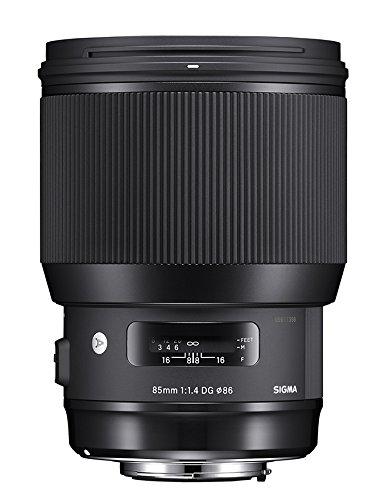 SIGMA 大口径中望遠レンズ Art 85mm F1.4 DG HSM シグマ用 フルサイズ対応