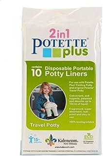 Kalencom Potette Plus On The Go Potty Liner Re-Fills 10-Pack