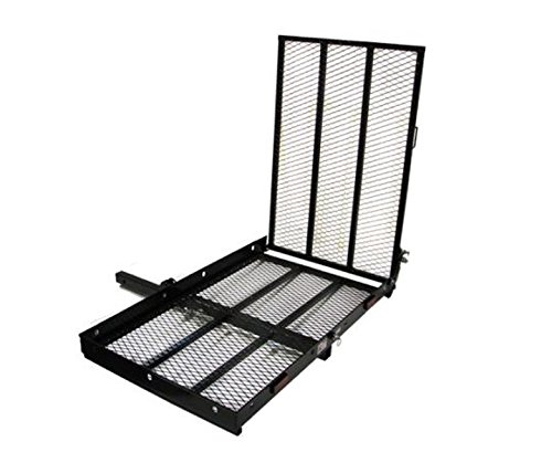 TMS Folding Strong Electric Wheelchair Hitch Carrier Mobility Scooter Loading Ramp