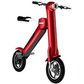 Scooter eléctrico MMJC, 250 W de alta potencia, ligero plegable con 35 km de largo alcance, velocidad máxima 25 Km/H…