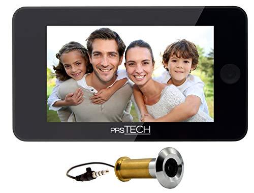 prsTECH® DoorCAM DC2 PLUS spioncino digitale elettronico per porta, telecamera 38mm a 110mm
